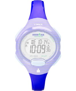 Replacement 12mm Resin Strap for IM Essential 10 Mid-Size-2, Blue, large