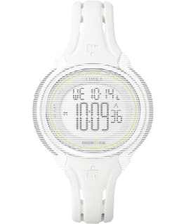 Replacement 13mm Silicone Strap for Ironman Sleek 50 Mid-Size, White, large
