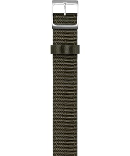 Reversible Double Weave Fabric Strap in Army Green Orange large