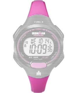 Replacement Resin Strap 12mm for Ironman Essential 10 Mid-Size, Pink, large