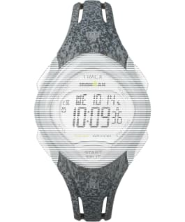Replacement 16mm Resin Strap for Ironman Sleek 30 Mid Size, Gray, large