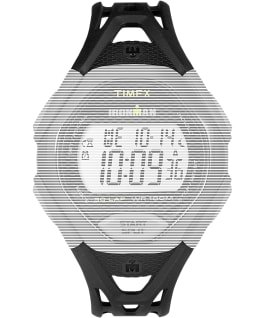 Replacement 17mm Resin Strap for Ironman Sleek 30 Full-Size, Black, large