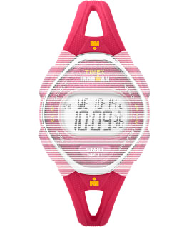 Replacement 14mm Silicone Strap for IRONMAN Sleek 50 Mid-Size, Pink, large