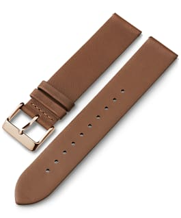 20mm Quick Release Leather Strap 1, Tan, large