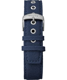 Weekender 3-hand 40mm Fabric Strap Watch Titanium/Blue large