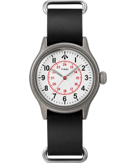 Timex X Nigel Cabourn Naval Officers Watch Gray/Black/White large
