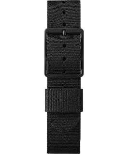 Timex x Face x Anna Analog Life 36mm Fabric Strap Watch Black/Orange large