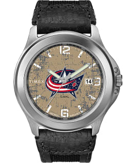 Old School Columbus Blue Jackets  large