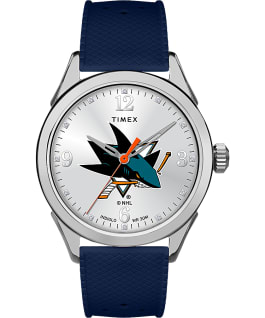 Athena Navy San Jose Sharks large