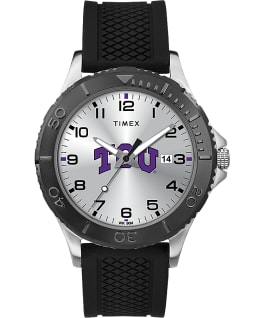 Gamer Black Texas Christian University Horned Frogs  large