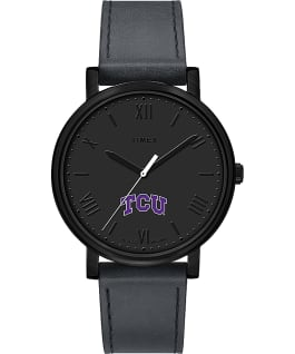 Night Game Texas Christian University Horned Frogs  large