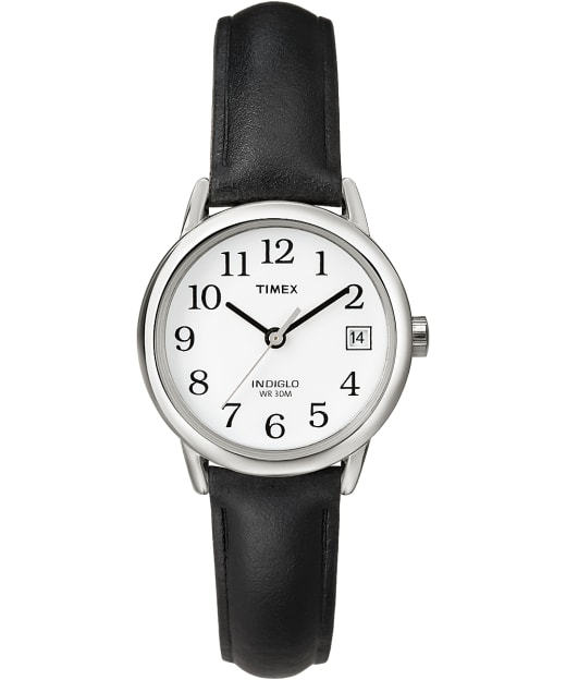 Easy Reader 25mm With Date Leather Watch Timex