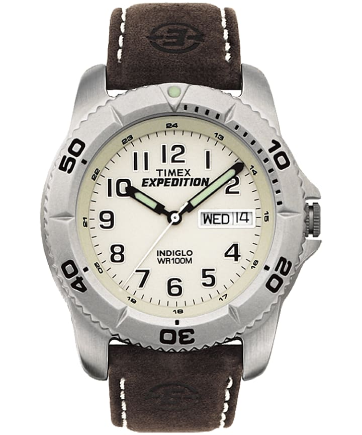 Expedition Traditional 40mm Leather Watch  large