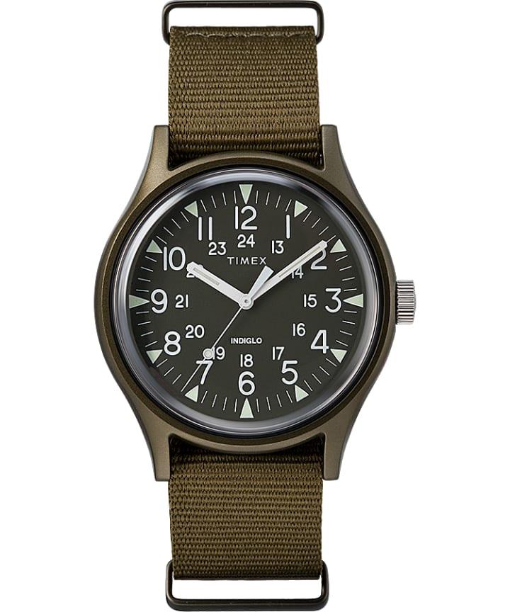 MK1 Aluminum 40mm Nylon Strap Watch  large