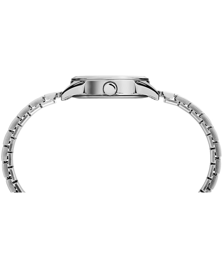 Briarwood Mother of Pearl 27mm Expansion Band Watch Silver-Tone/Mother-of-Pearl large