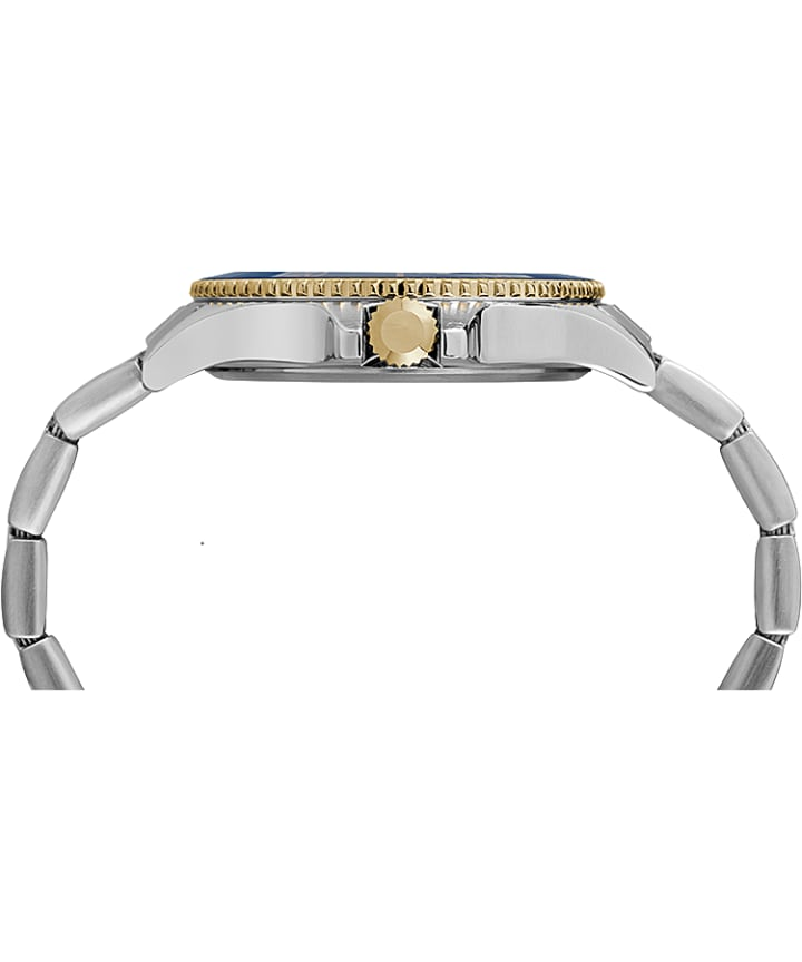 Harborside 42mm Bracelet Watch Two-Tone/Blue large