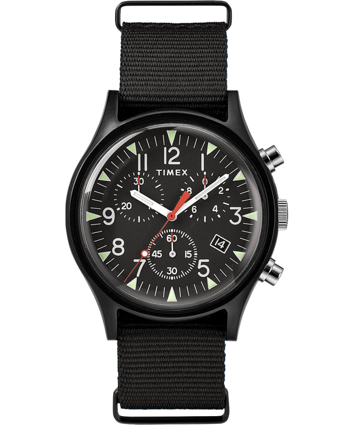 MK1 Aluminum Chronograph 40mm Nylon Strap Watch  large