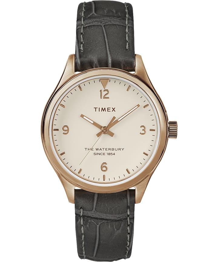Waterbury Womens 34mm Leather Watch  large