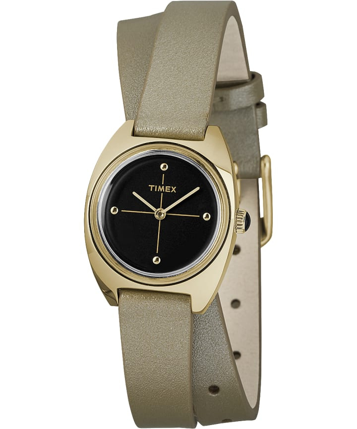 Milano 24mm Double-Wrap Leather Watch  large