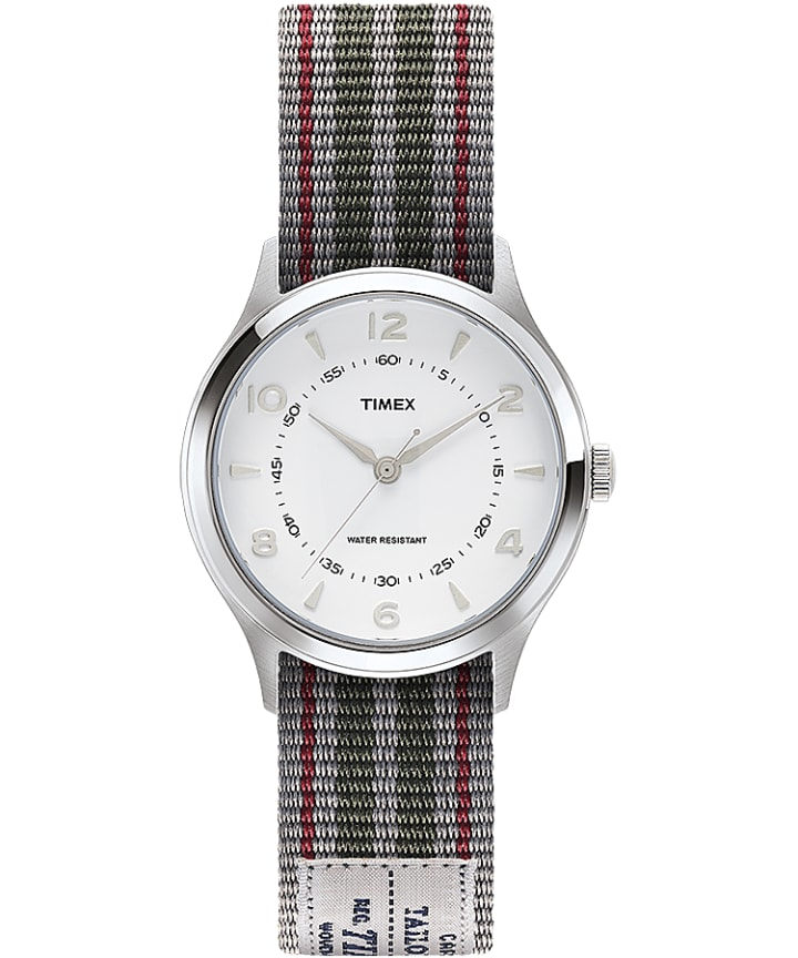 Whitney Village 36mm Reversible Grosgrain Strap Watch-1  large
