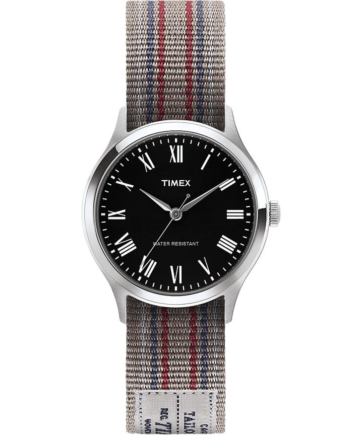 Whitney Avenue 36mm Reversible Grosgrain Strap Watch-1  large