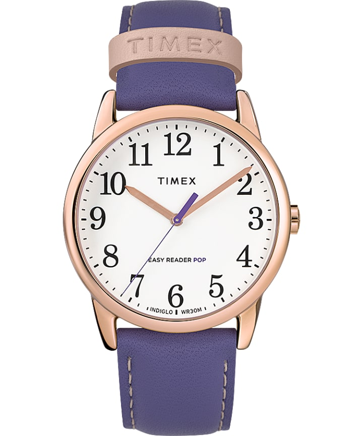 Easy-Reader-38mm-Exclusive-Color-Pop-Leather-Womens-Watch  large