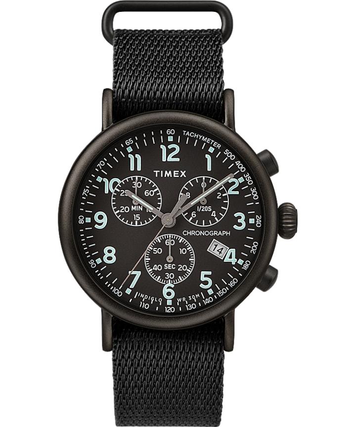 Standard Chronograph 41mm Fabric Strap Watch  large