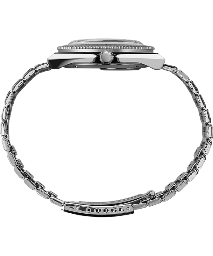 Todd Snyder x Q Timex 38mm Stainless Steel Bracelet Black/Stainless-Steel large