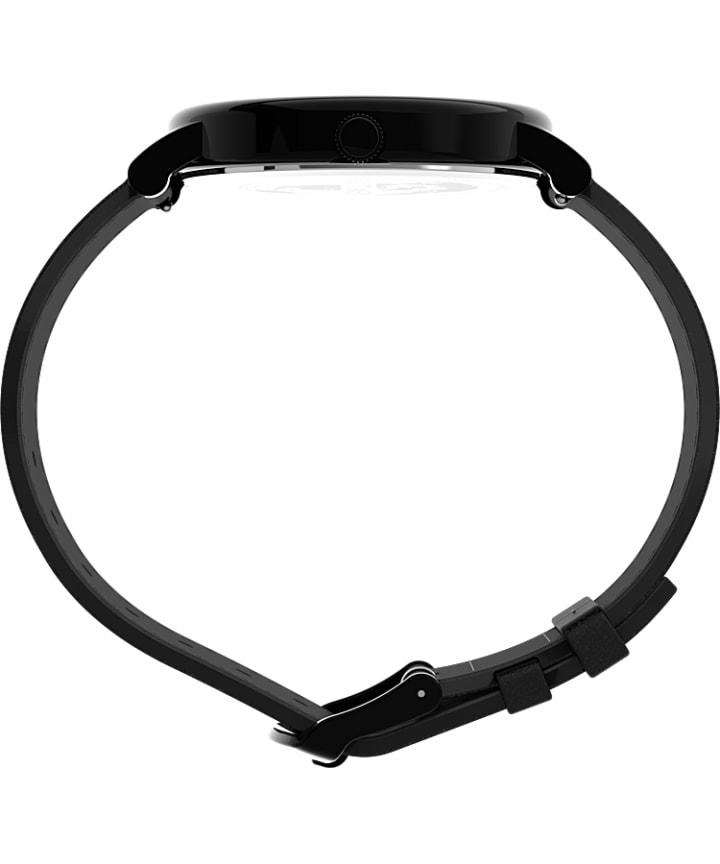 Originals 42mm Leather Strap Watch Black large
