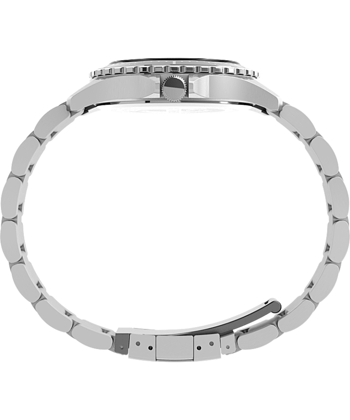Navi XL 41mm Stainless Steel Bracelet Watch Stainless-Steel/Black large