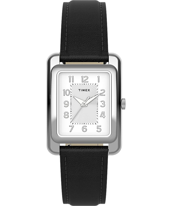 Addison 25mm Leather Strap Watch  large