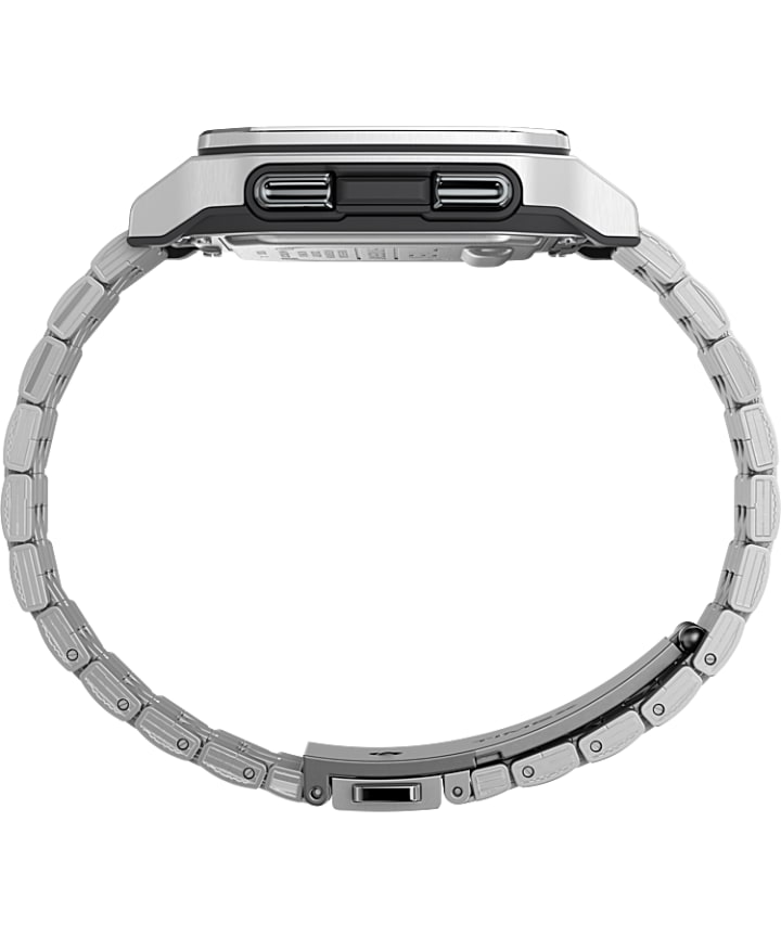 Command Urban™ Metal 47mm Stainless Steel Bracelet Watch Silver-Tone large