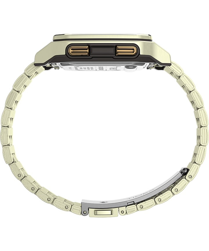 Command Urban™ Metal 47mm Stainless Steel Bracelet Watch Gold-Tone large