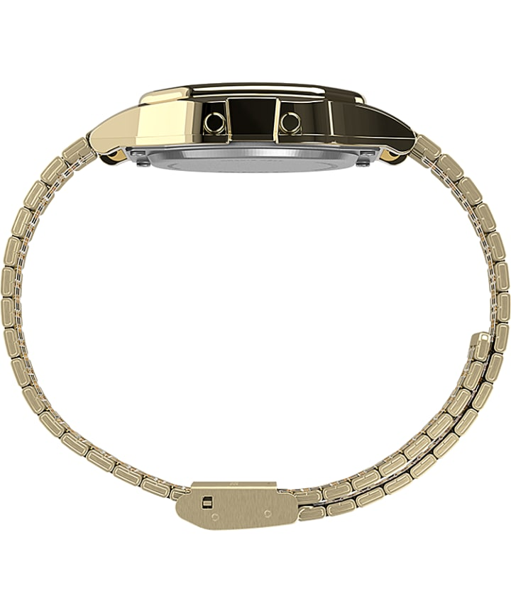 Timex T80 x PAC-MAN™ 34mm Stainless Steel Bracelet Watch Gold-Tone large