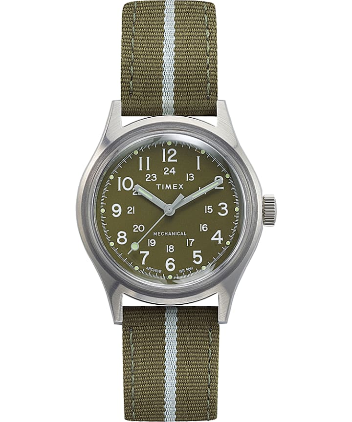 MK1 Mechanical 36mm Fabric Strap Watch  large