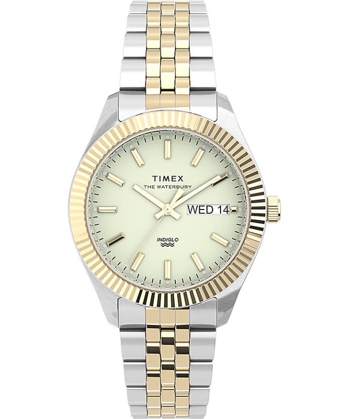 Waterbury Legacy Boyfriend 36mm Stainless Steel Bracelet Watch large