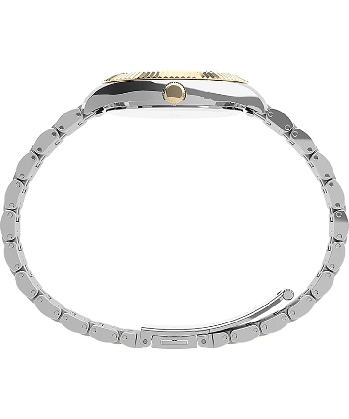 Waterbury Legacy Boyfriend 36mm Stainless Steel Bracelet Watch Two-Tone/Gold-Tone large