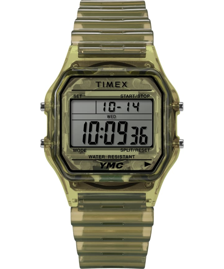 Timex x YMC 34mm Resin Bracelet Watch  large