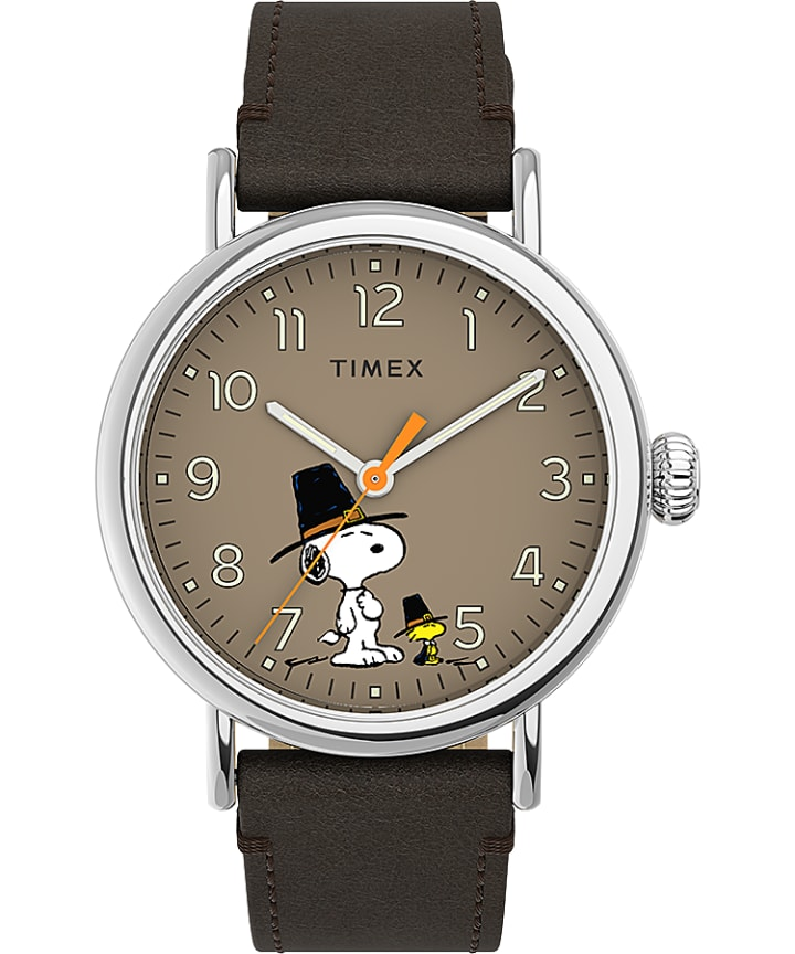 Timex Standard x Peanuts Featuring Snoopy Thanksgiving  large