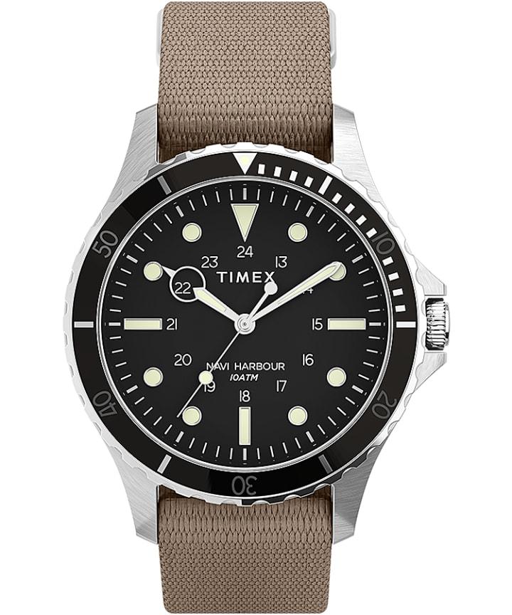 Navi XL 41mm Fabric Strap Watch  large