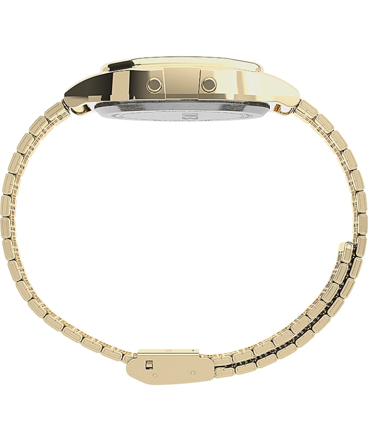 Timex T80 34mm Stainless Steel Bracelet Watch Gold-Tone/Gray large