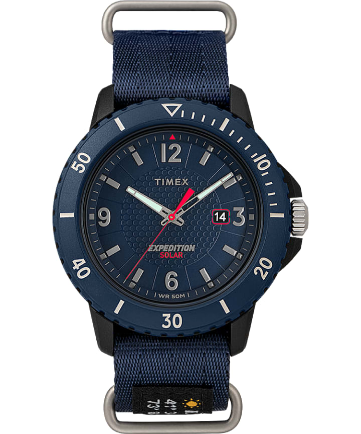 Expedition Gallatin Solar 44mm Fabric Strap Watch  large