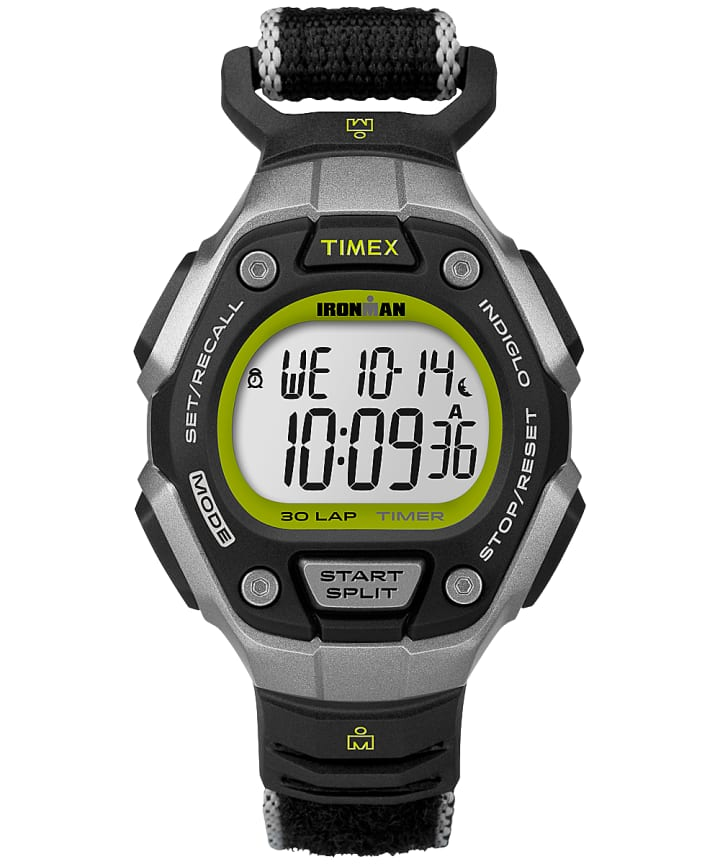 IRONMAN® Classic 30 Mid-Size Silver-Tone/Black/Yellow large