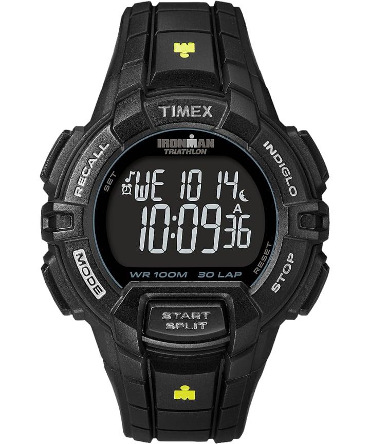 IRONMAN Rugged 30 Full-Size Resin Strap Watch Black large