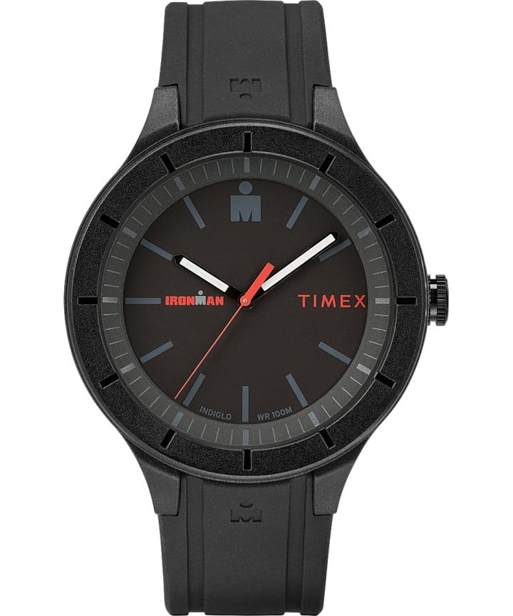 IRONMAN 43mm Silicone Strap Watch  large