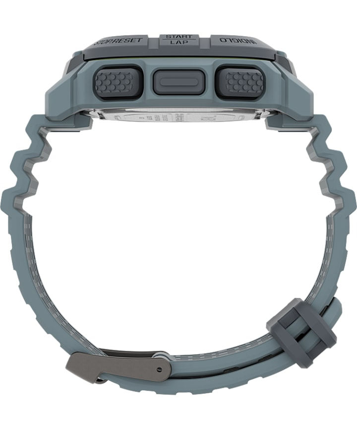 Timex Command™ 47mm Silicone Strap Watch Blue/Gray large