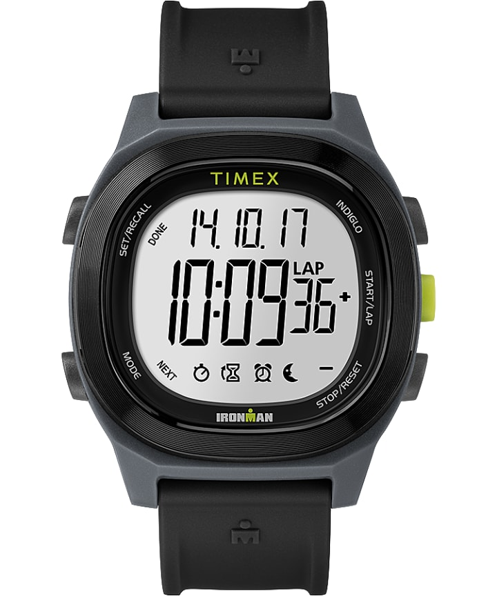 TIMEX IRONMAN Transit with Timex Pay 40mm Resin Strap Watch  large