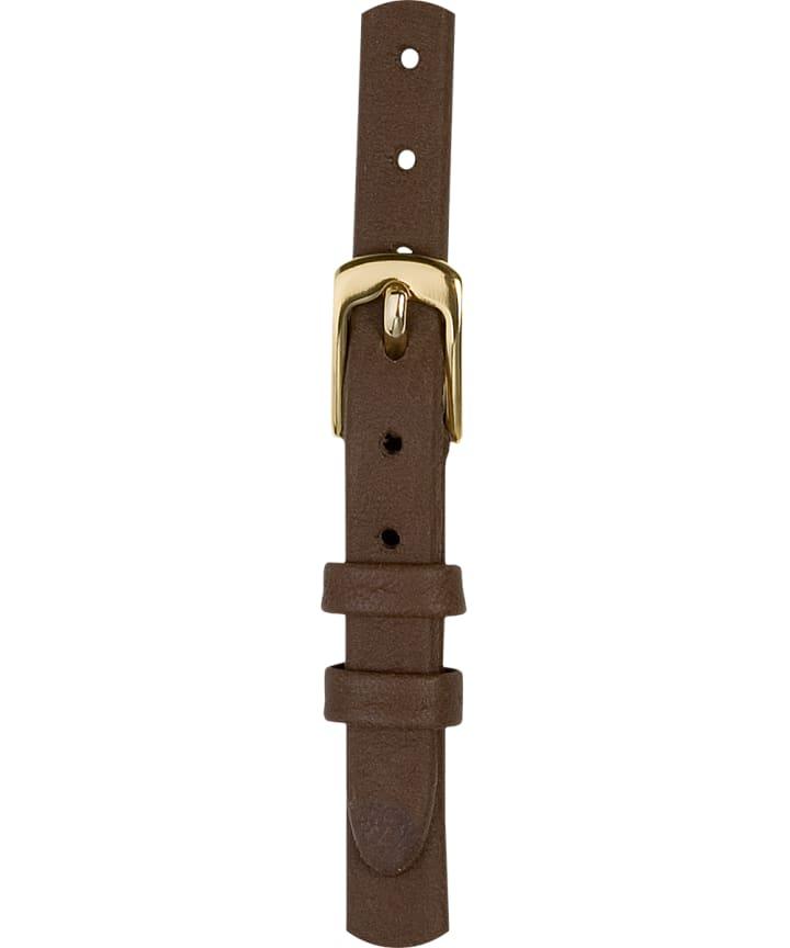 Grand bracelet en cuir brun 9mm