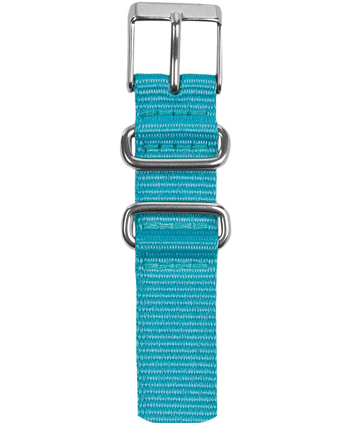 16mm Nylon Slip-Thru Strap Blue large