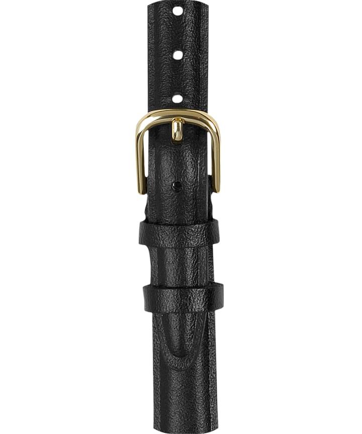 12mm Leather Strap Black large